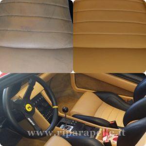Riparazione sedili auto in pelle